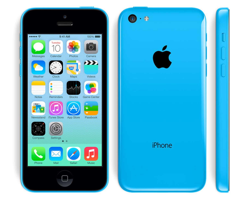 apple iphone 5c 8 gb blau. Black Bedroom Furniture Sets. Home Design Ideas