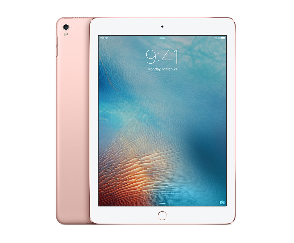 apple ipad pro 9 7 wi fi 32 gb rose gold. Black Bedroom Furniture Sets. Home Design Ideas