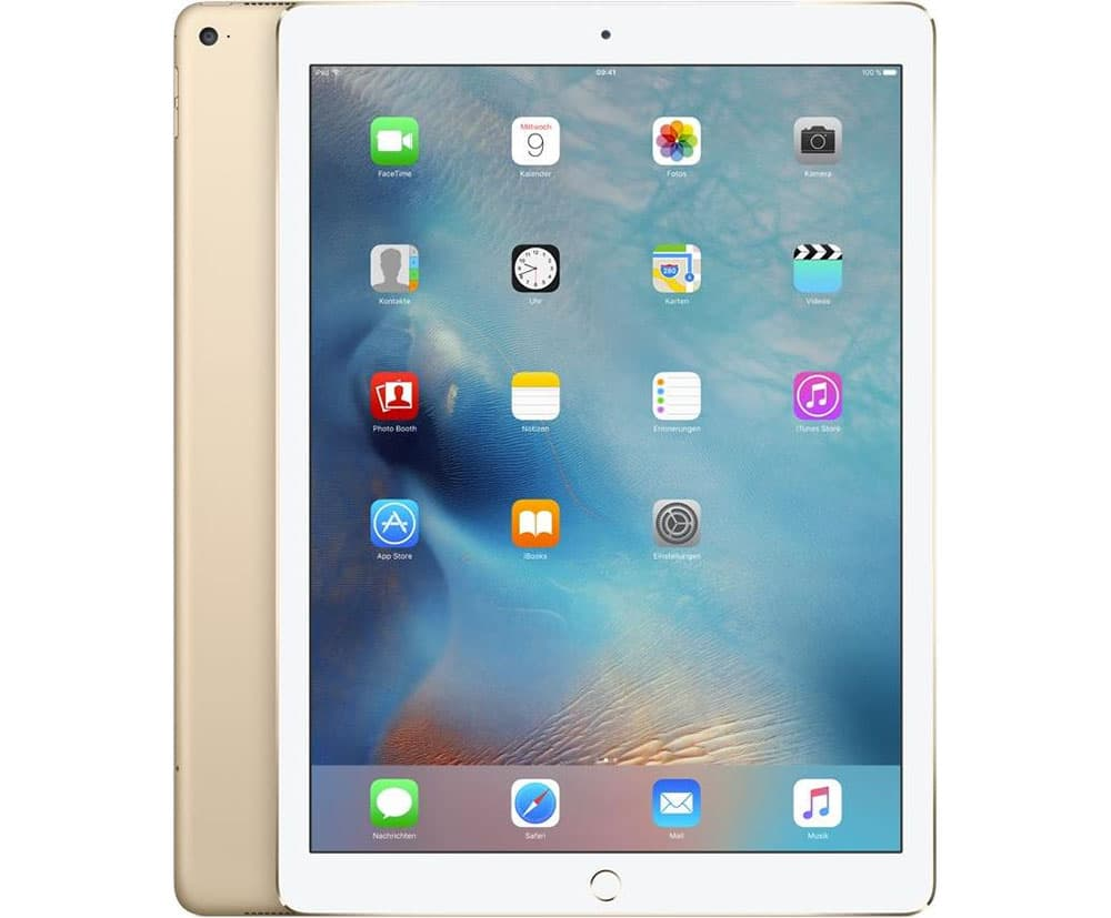 apple ipad pro 12 9 wi fi 32 gb gold. Black Bedroom Furniture Sets. Home Design Ideas