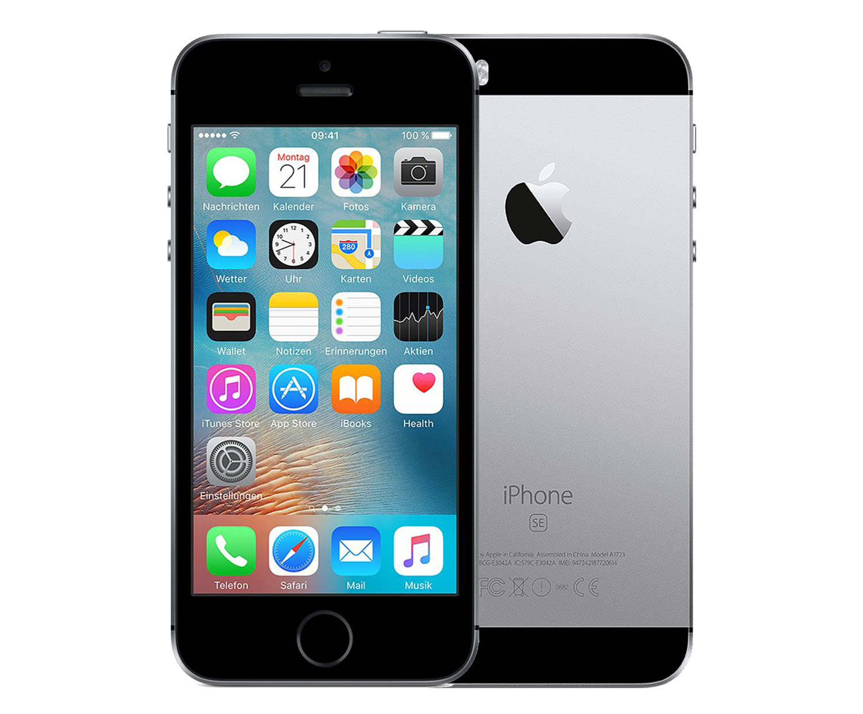apple iphone se 128 gb space grau. Black Bedroom Furniture Sets. Home Design Ideas